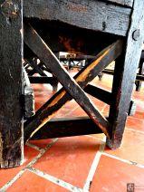 original woodwork - Ellis Island.