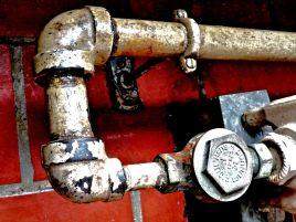 heat pipes - Ellis Island.